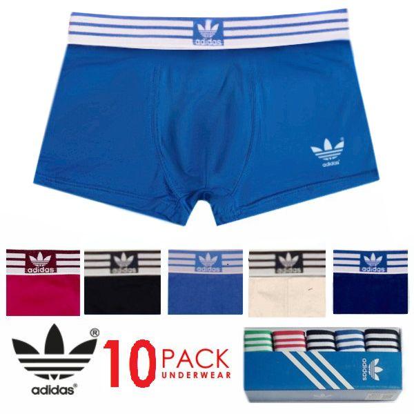 Adidas Performance Short Boxer Mens - Πακέτο 10 Εσώρουχα