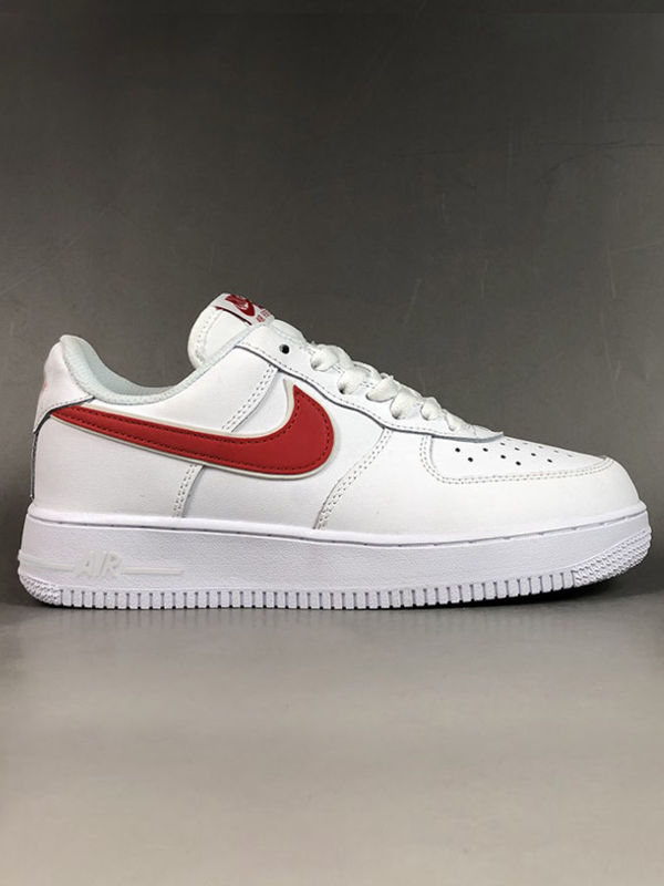 Nike Air Force 1 / Low White - Red